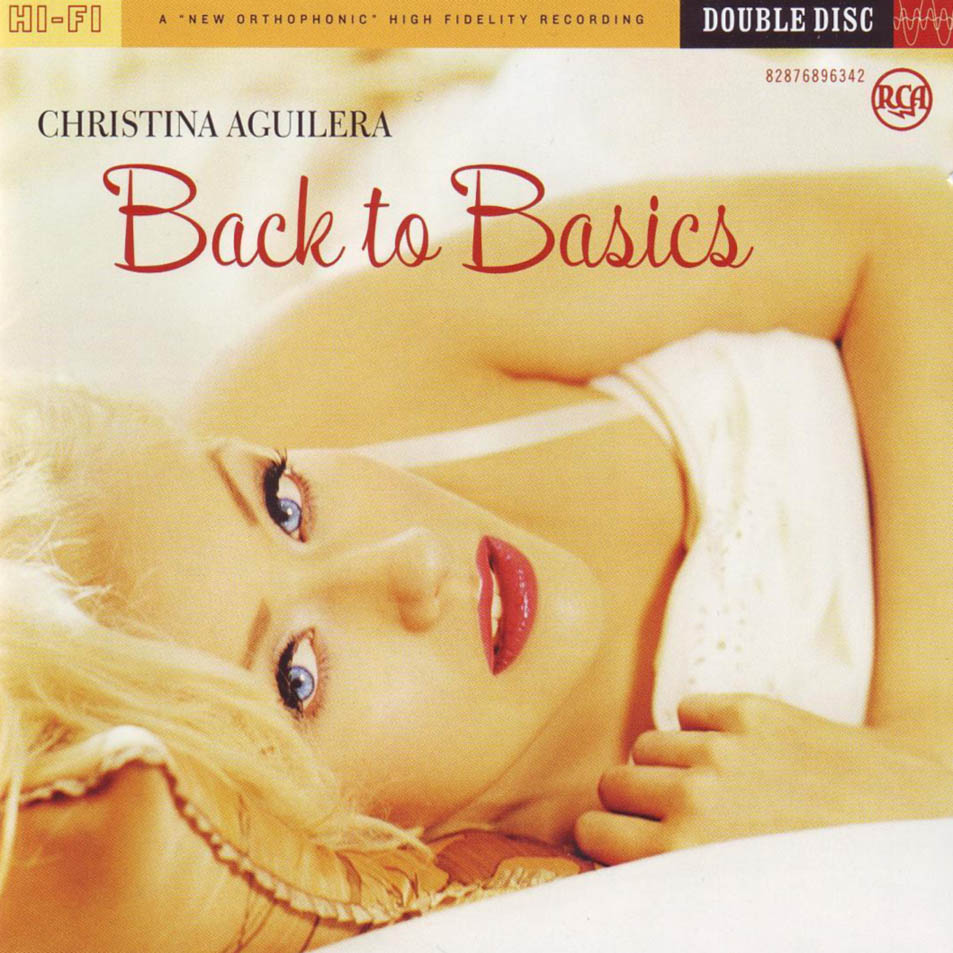 Christina Aguilera Back to Basics cover